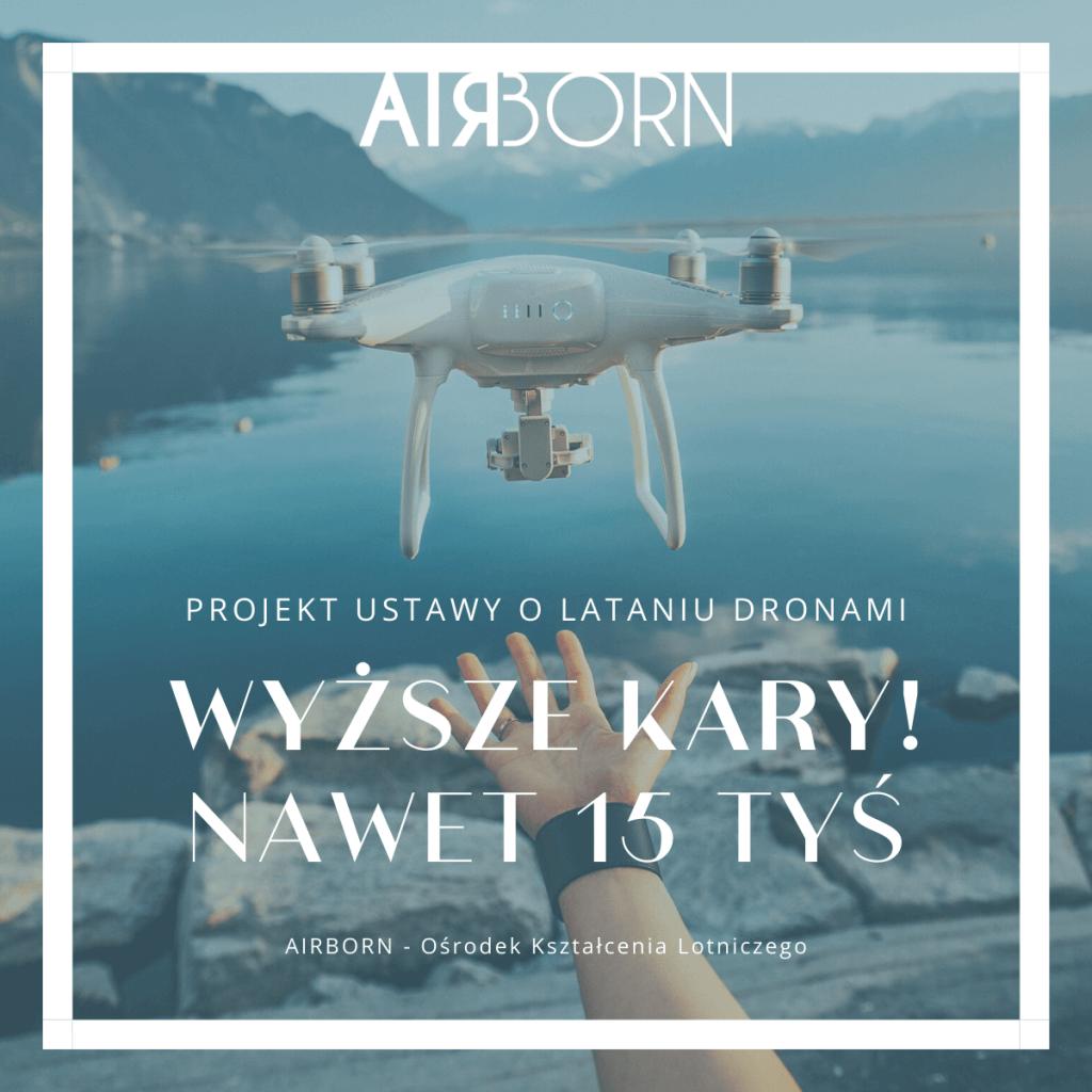Zmiany w projekcie ustawie o lataniu dronami. Nowe przepisy, wyższe kary!